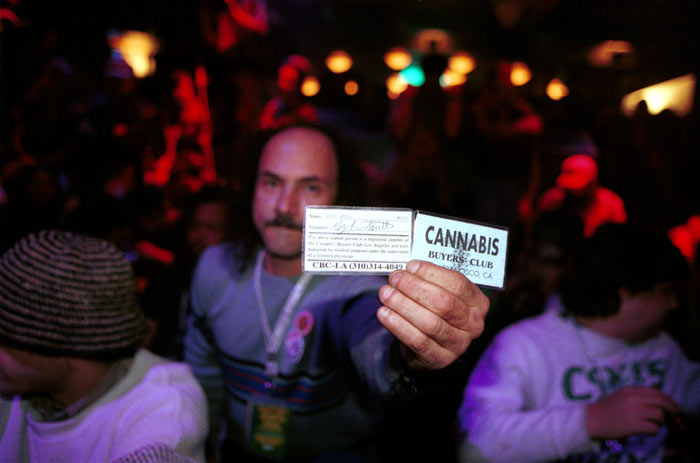fète  de cloture du High Times  Cannabis-Cup
