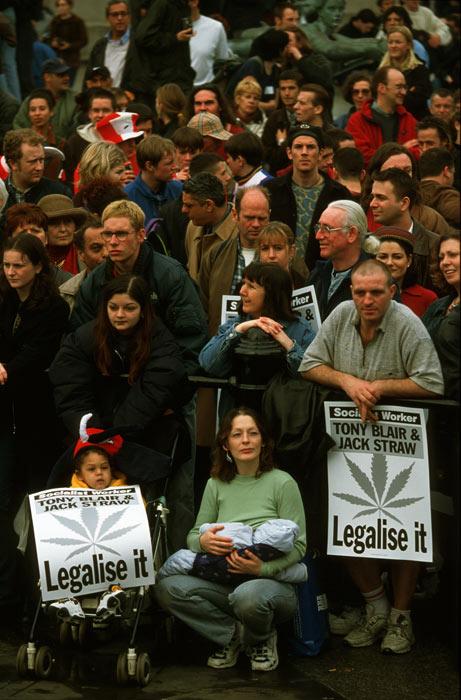 marche antiprohibitionniste  organisée par
