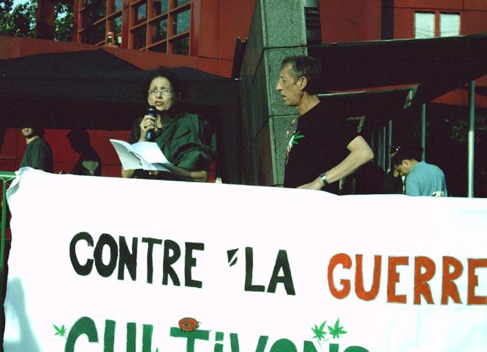 Intervention d' Anne Coppel,  Présidente de l'Association Française  de Réduction des Risques liés à  l'usage de drogues