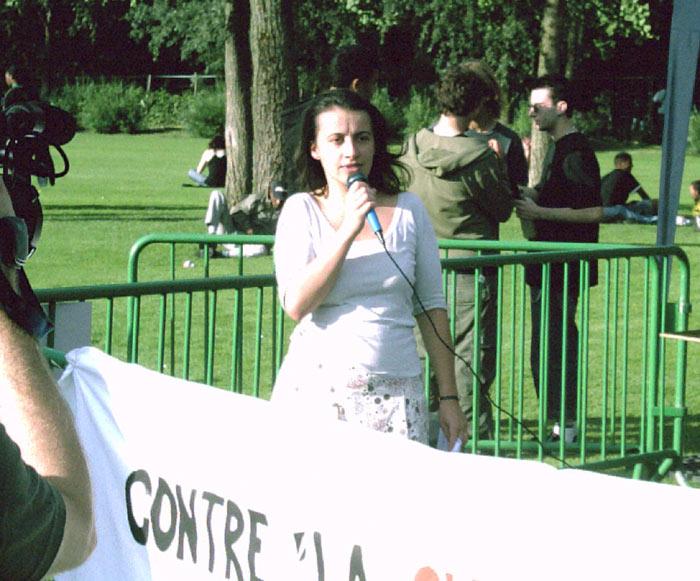 Intervention de Cécile  Duflot, Secrétaire nationale des Verts