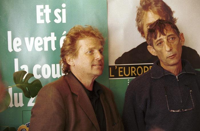 Daniel Cohn-Bendit et Jean  Pierre Galland